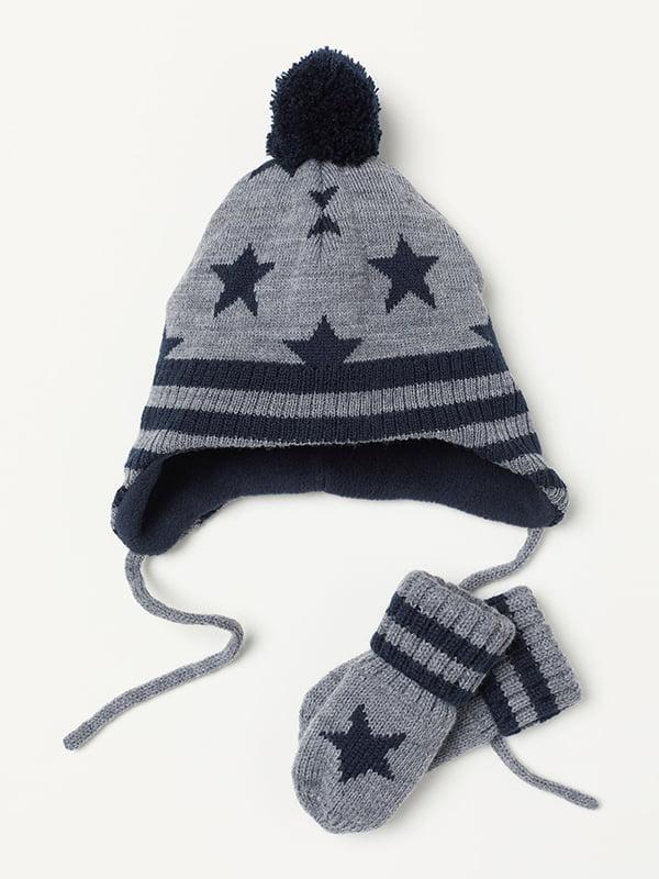 Комплект: шапка и варежки | 5127243