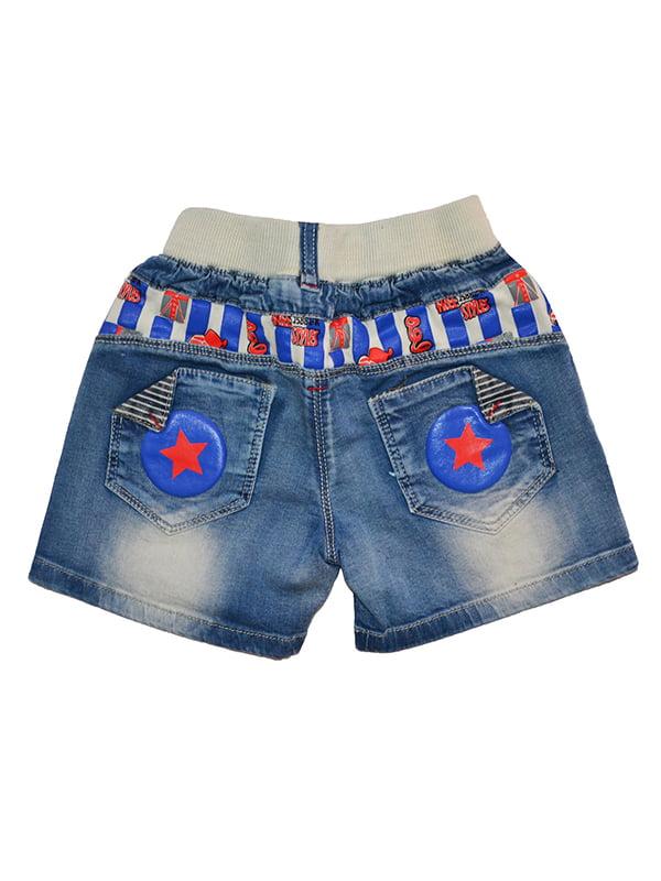 Шорти сині джинсові | 5136849