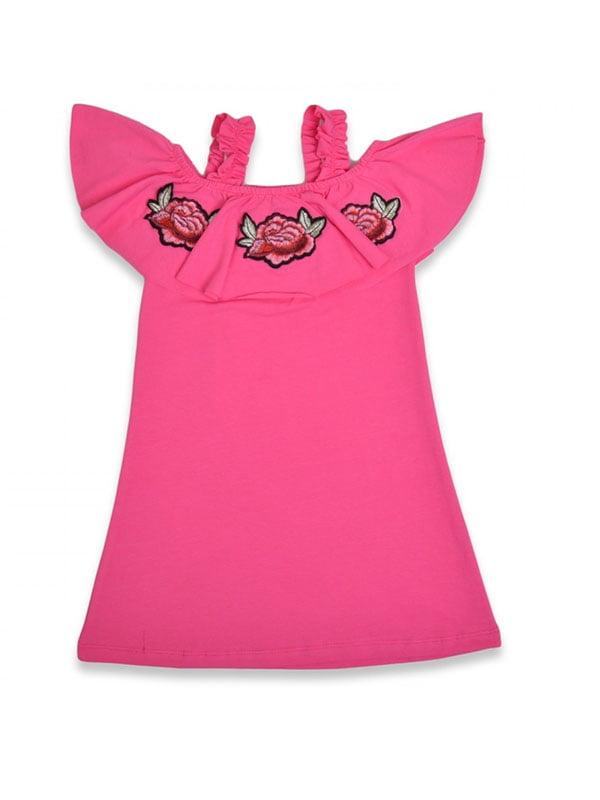 Сукня рожева з вишивкою | 5136878