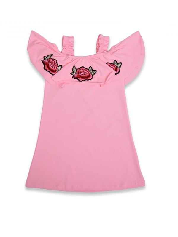 Сукня рожева з вишивкою | 5136879