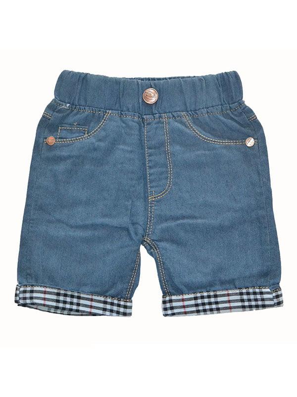 Шорти сині джинсові | 5136846