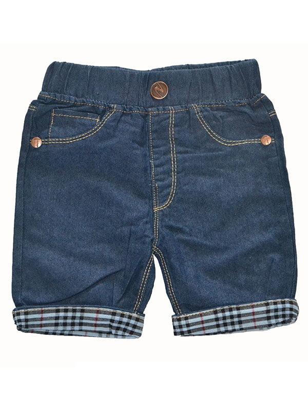 Шорти темно-сині джинсові | 5136847