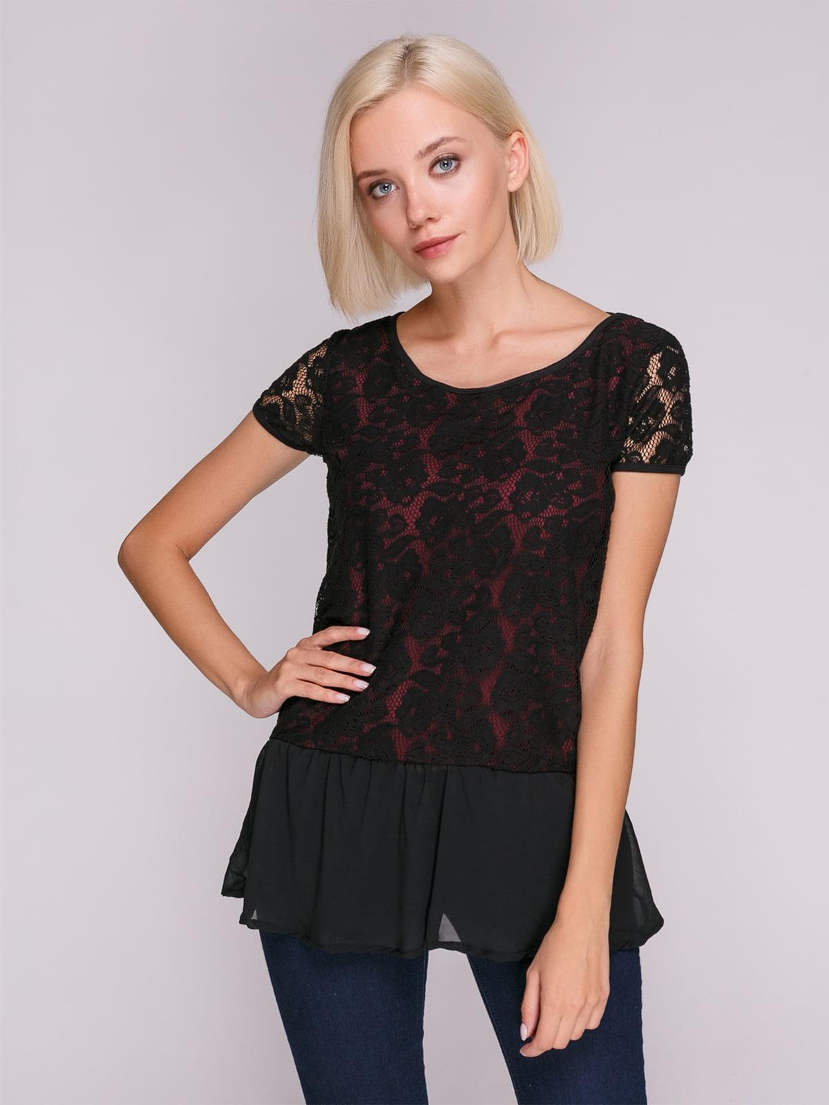 Блуза чорна   4618260