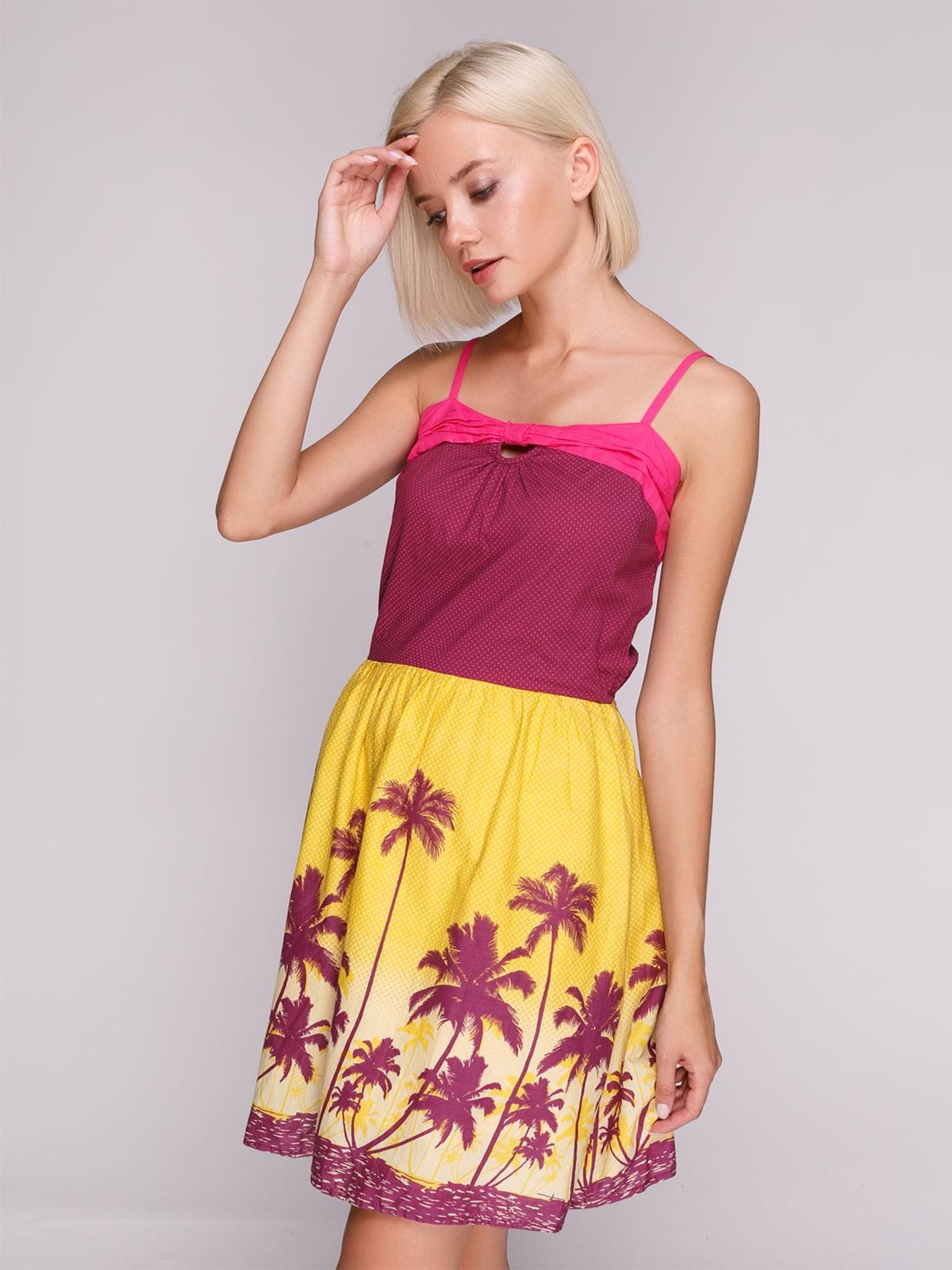 Сукня в принт | 4620344