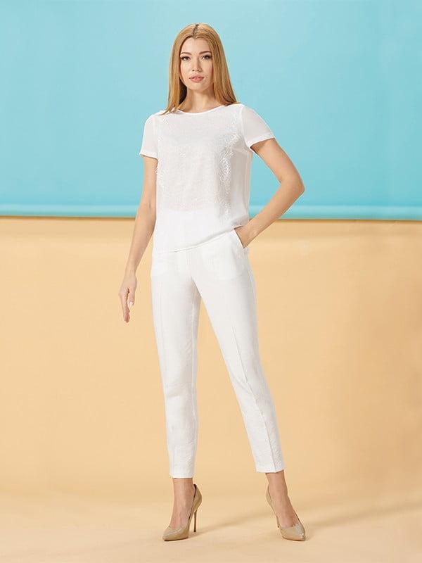 Блуза белая   5115762