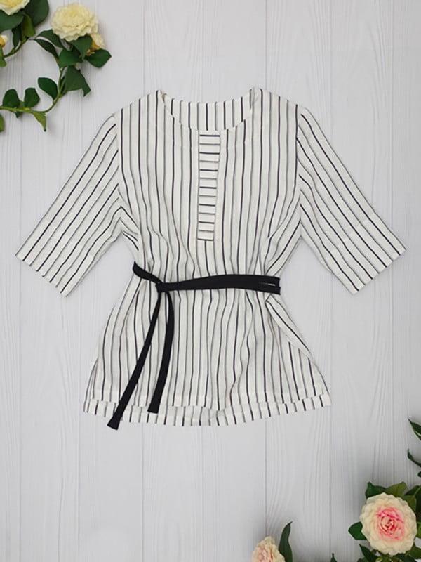 Блуза в полоску | 5115765