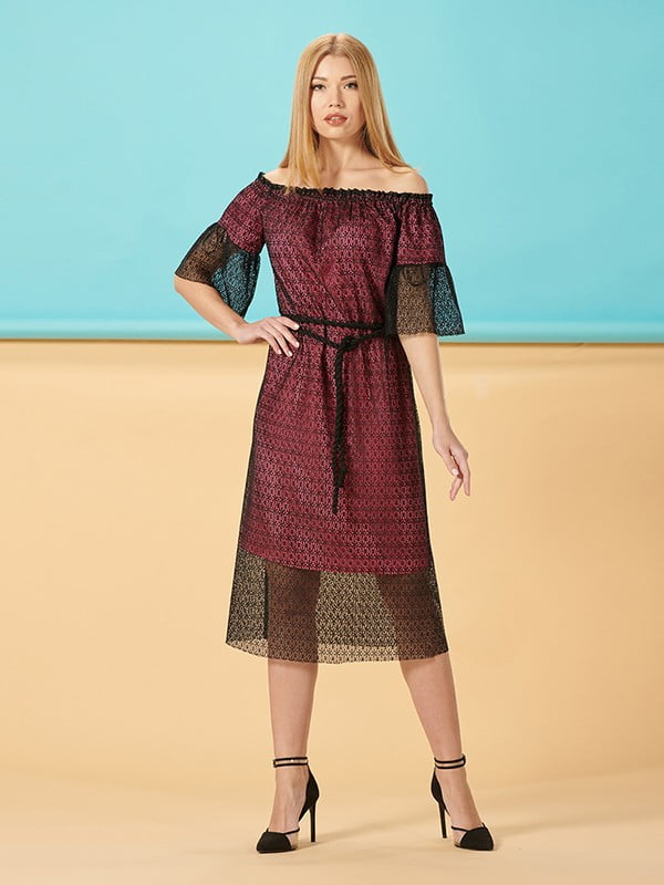 Платье двухцветное | 5115990