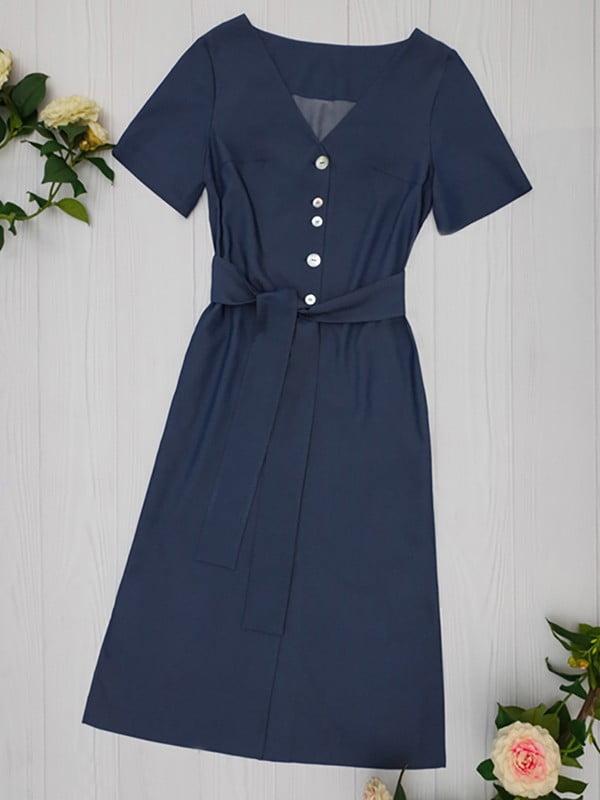Платье синее   5115999