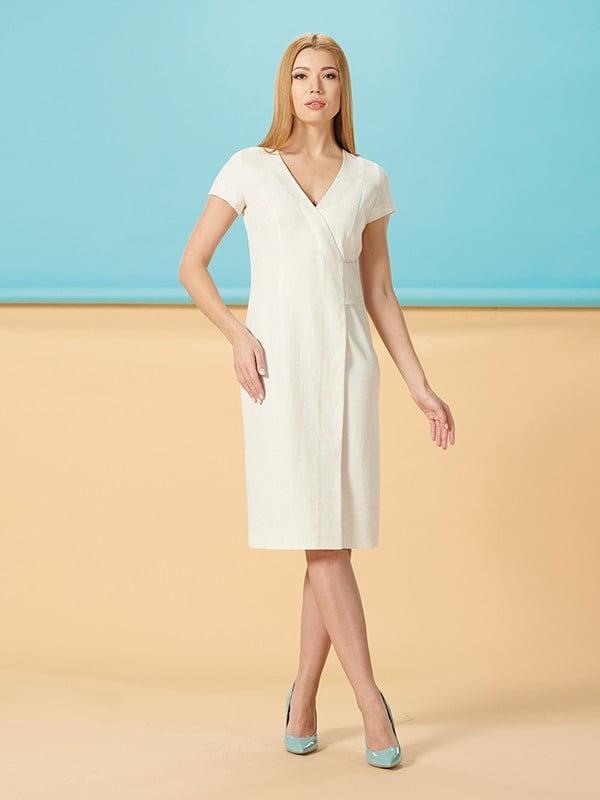 Платье молочного цвета | 5116020