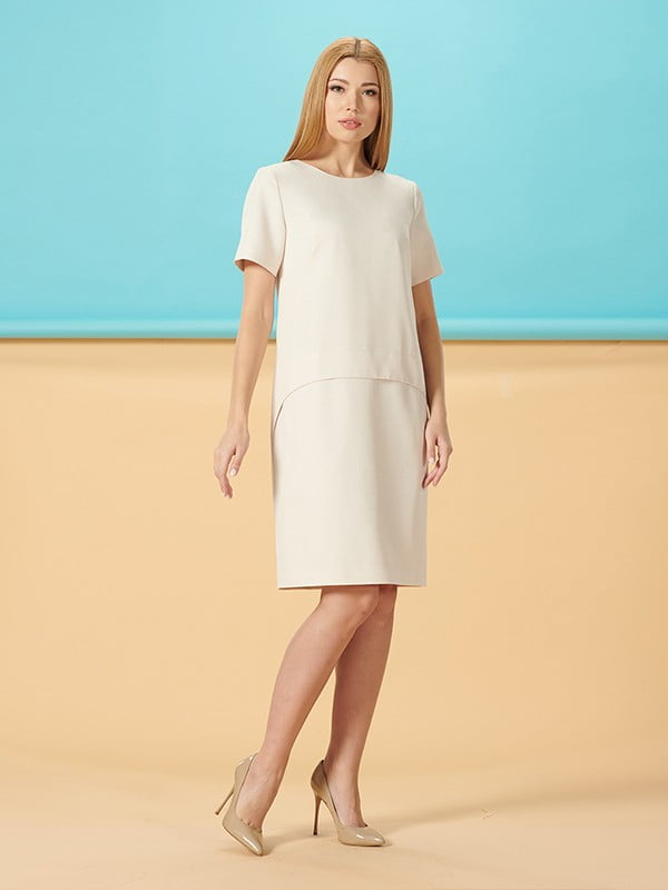 Платье молочного цвета | 5116025