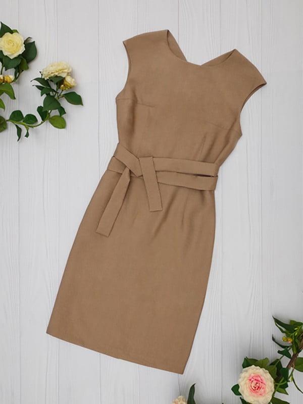Платье коричневое   5116026