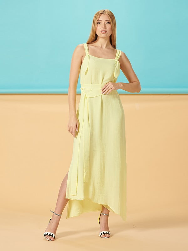 Платье желтое   5116033