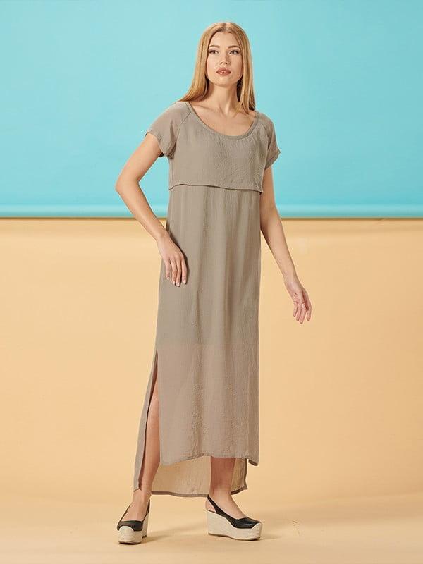 Платье цвета хаки | 5116099