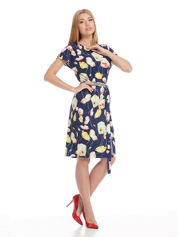 Платье синее | 5139575