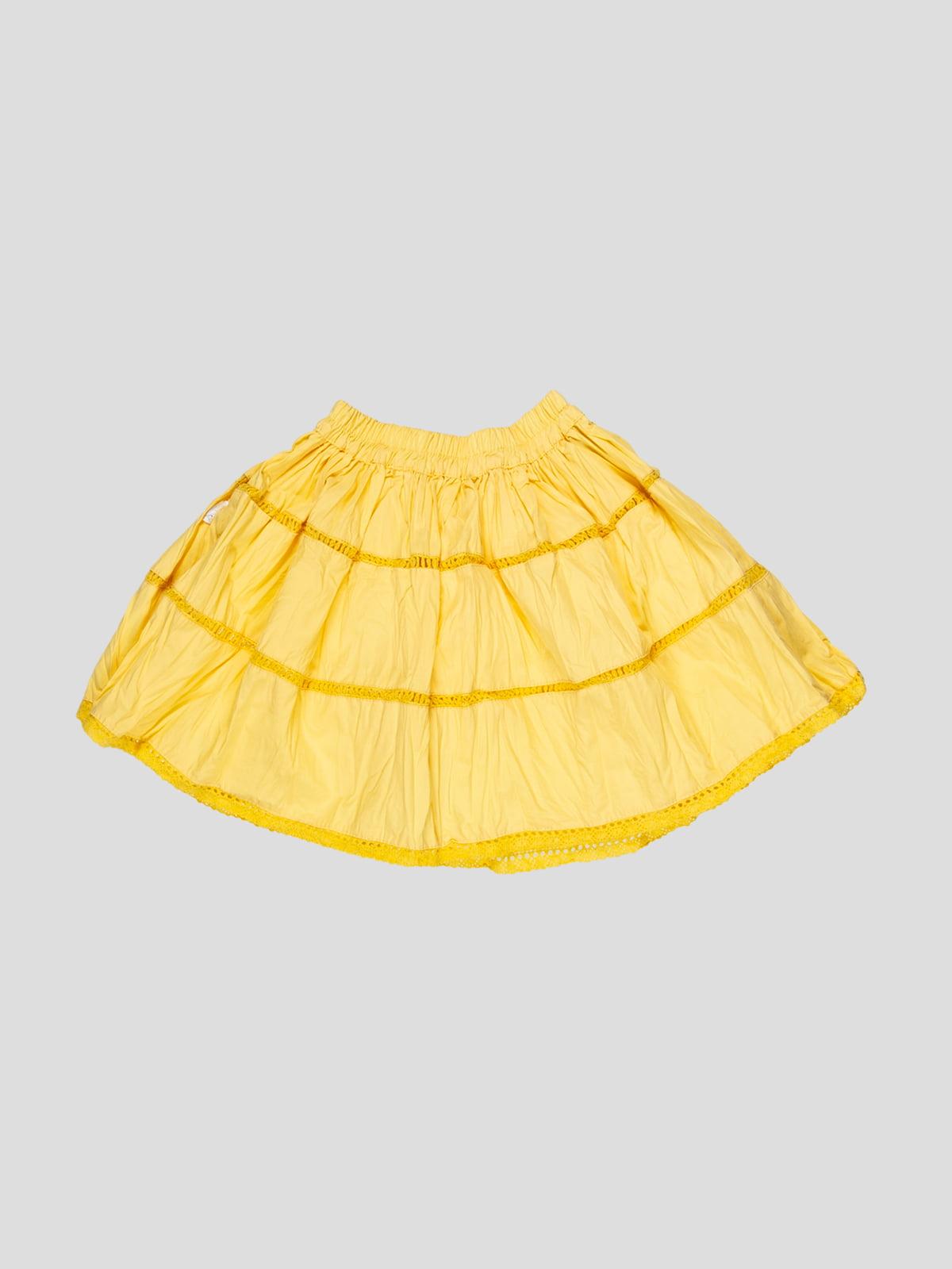 Юбка желтая | 5125069
