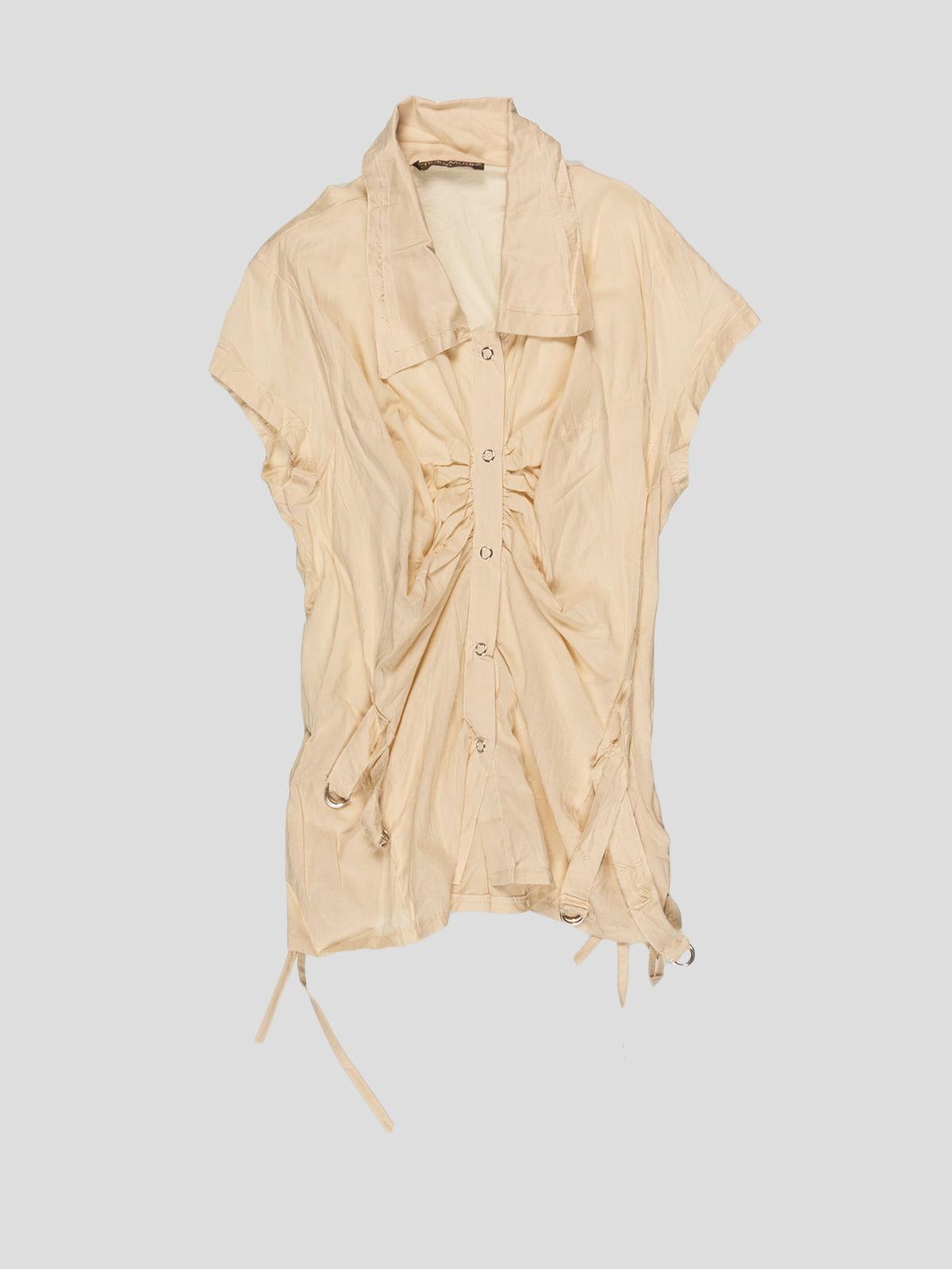 Блуза бежева | 3168545