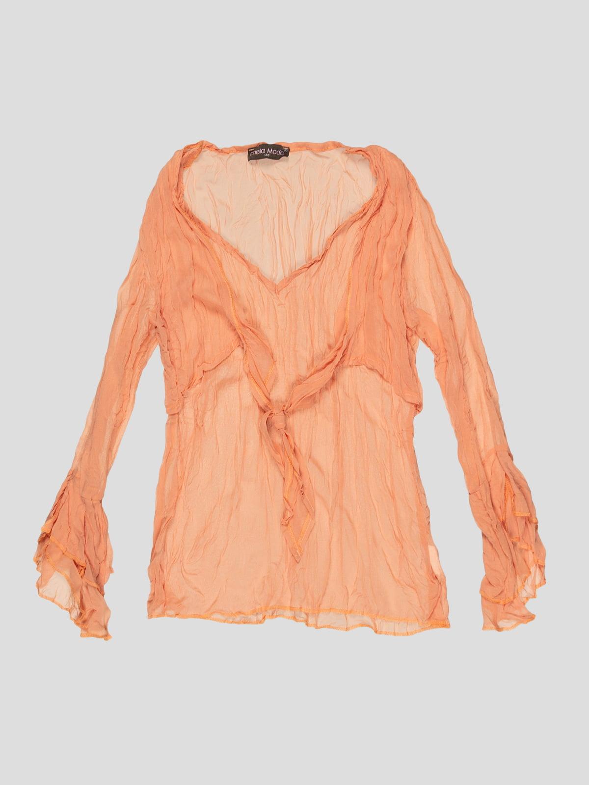 Блуза помаранчева | 2913309