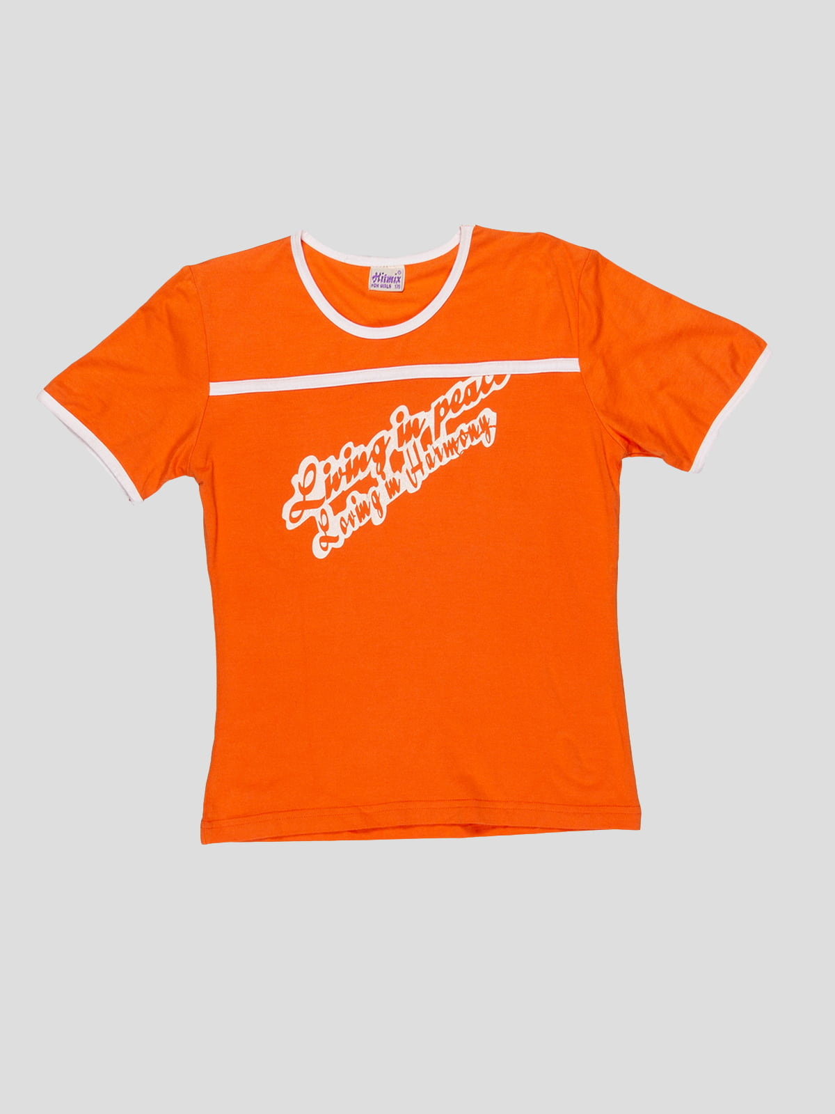 Футболка оранжевая | 3168503