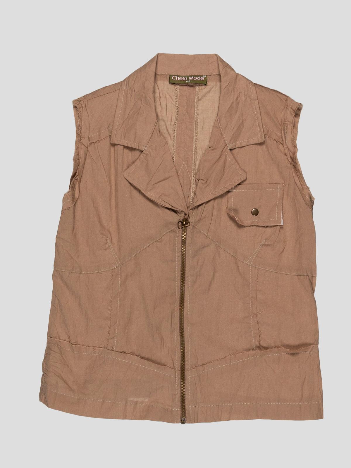 Блуза коричнева   1590261