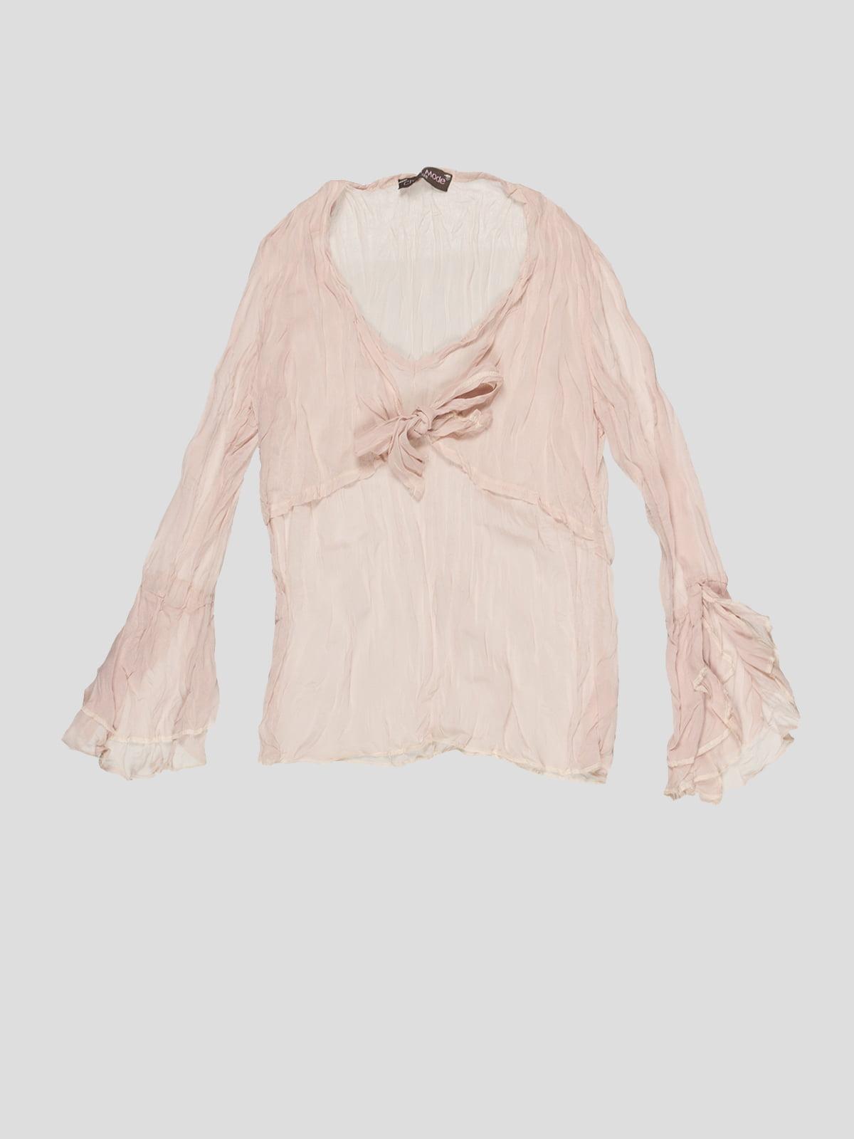 Блуза кольору пудри   2913307