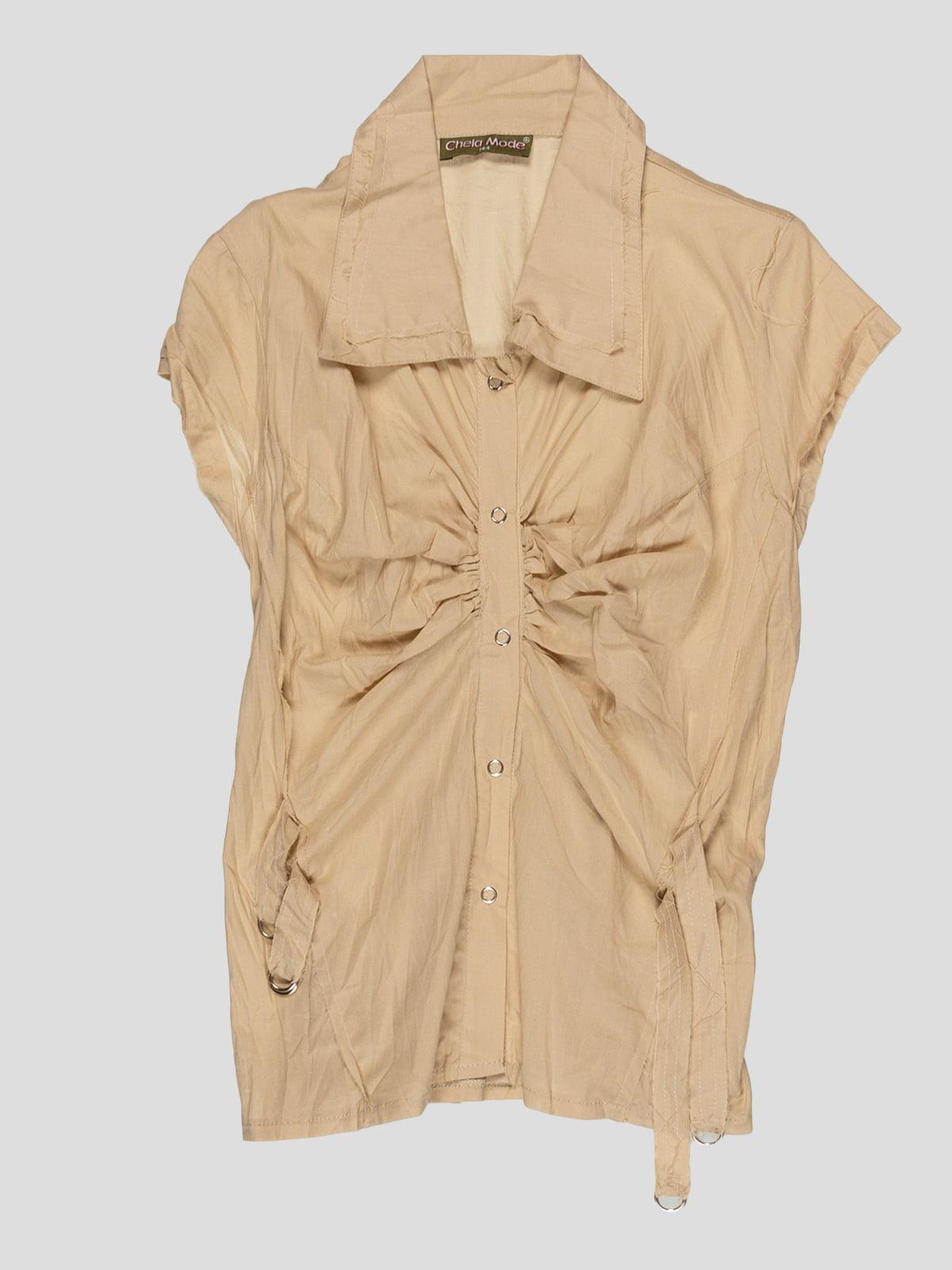 Блуза бежева | 3168546