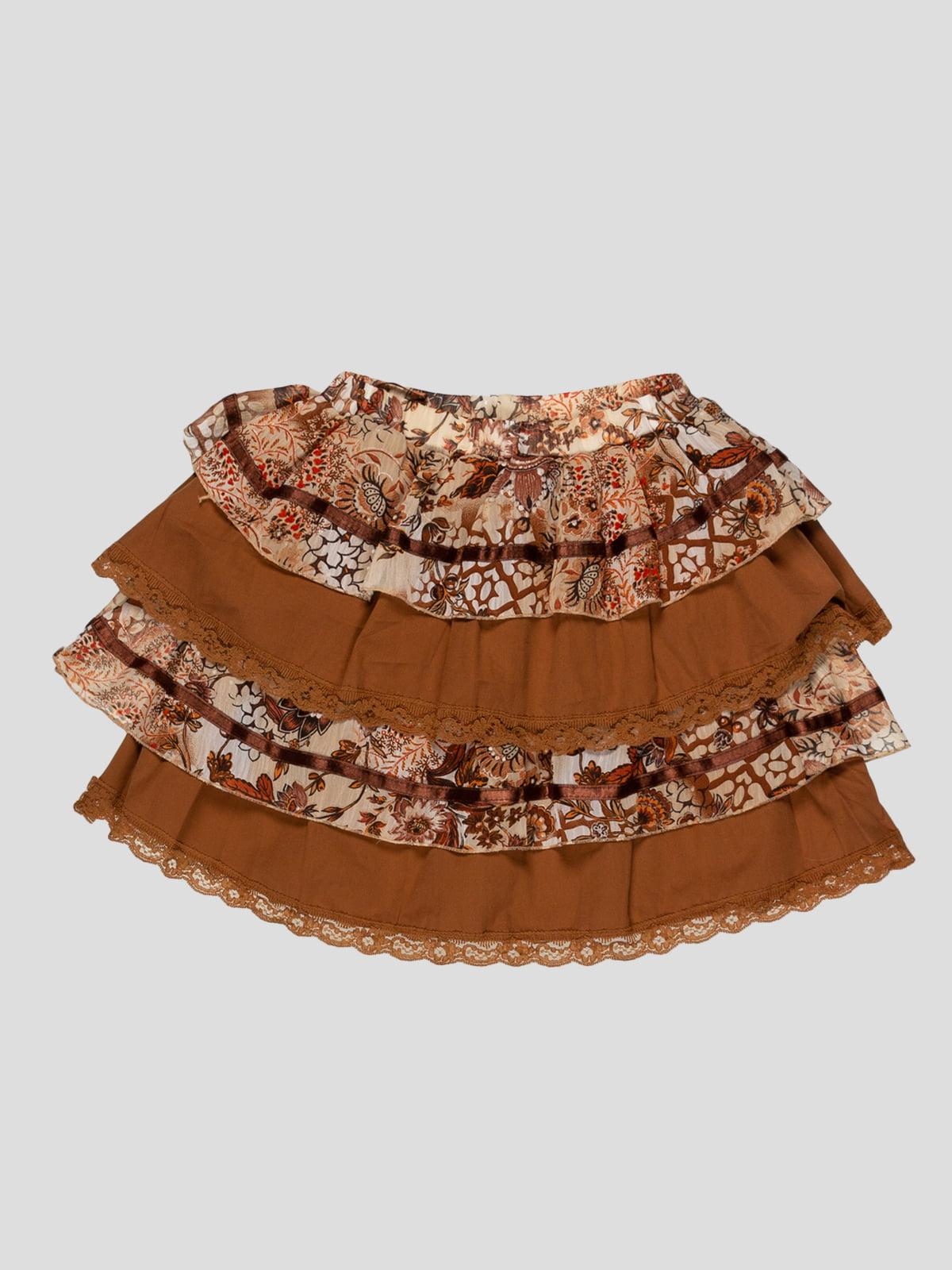 Юбка коричневая | 5125053