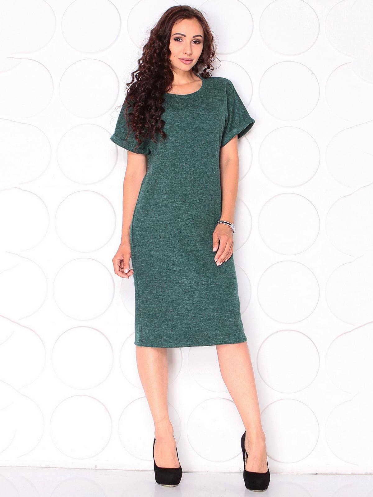 Сукня темно-смарагдового кольору | 5140188