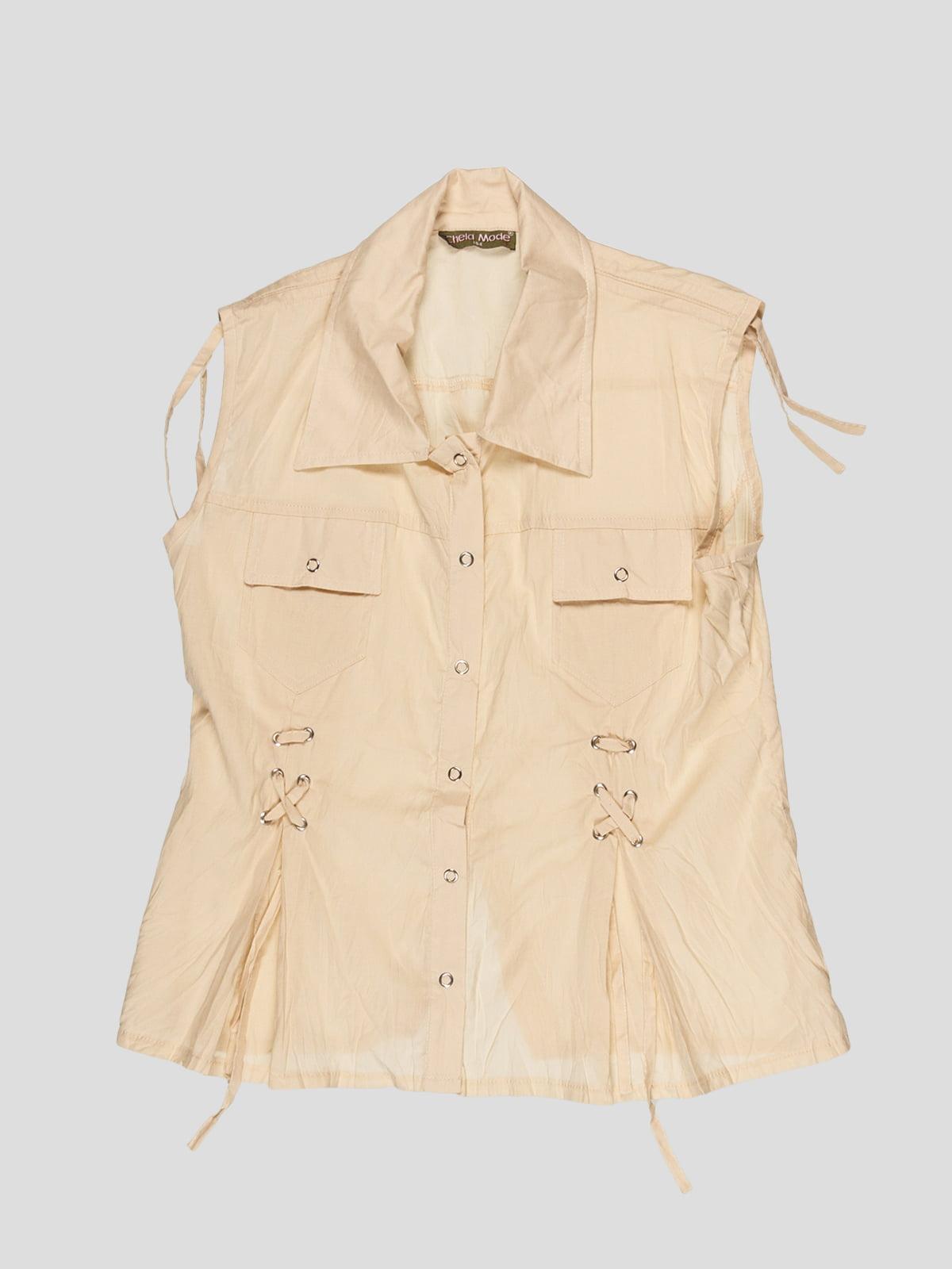 Блуза бежева | 3168541
