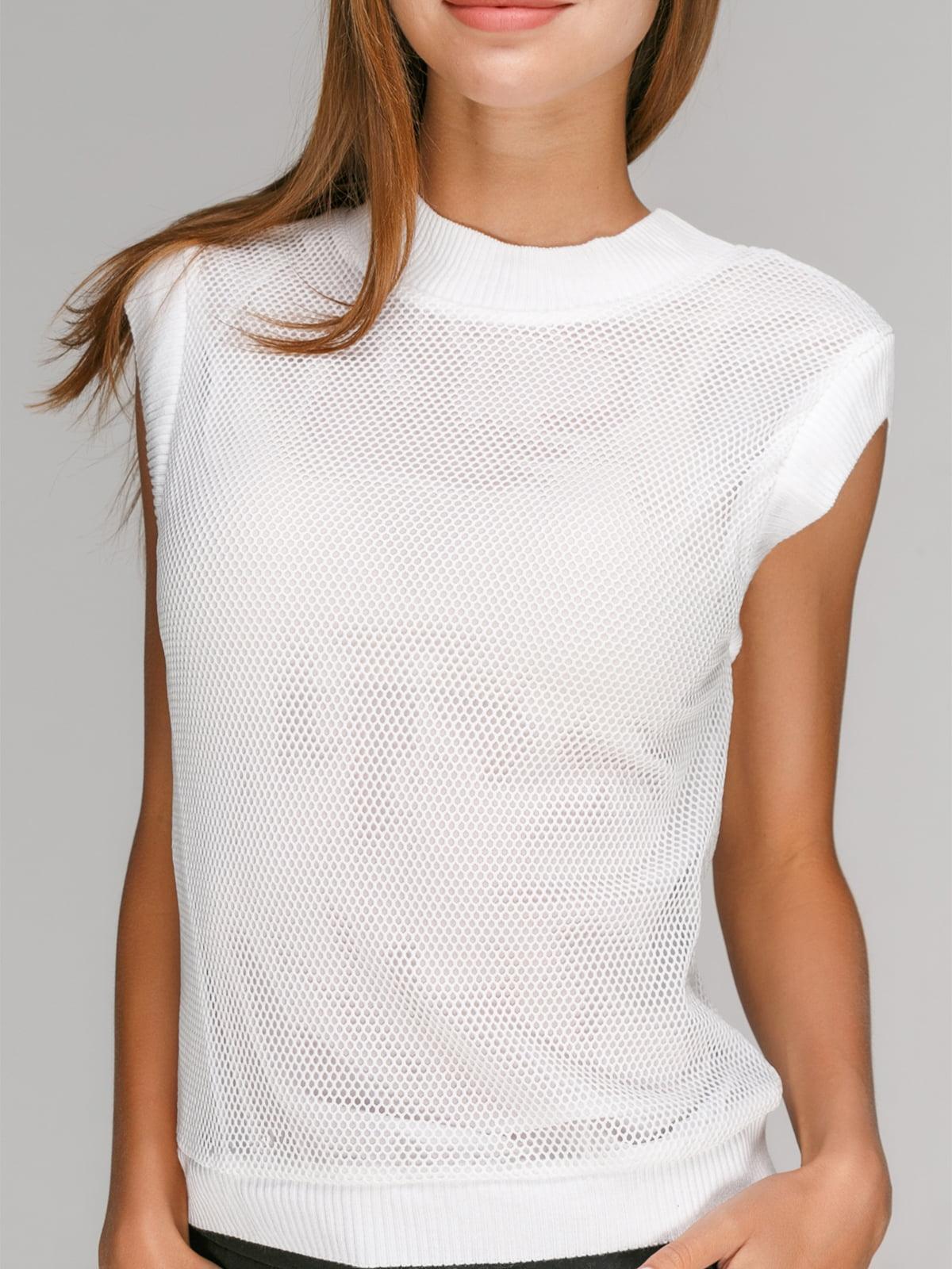 Блуза белая | 4507999 | фото 3