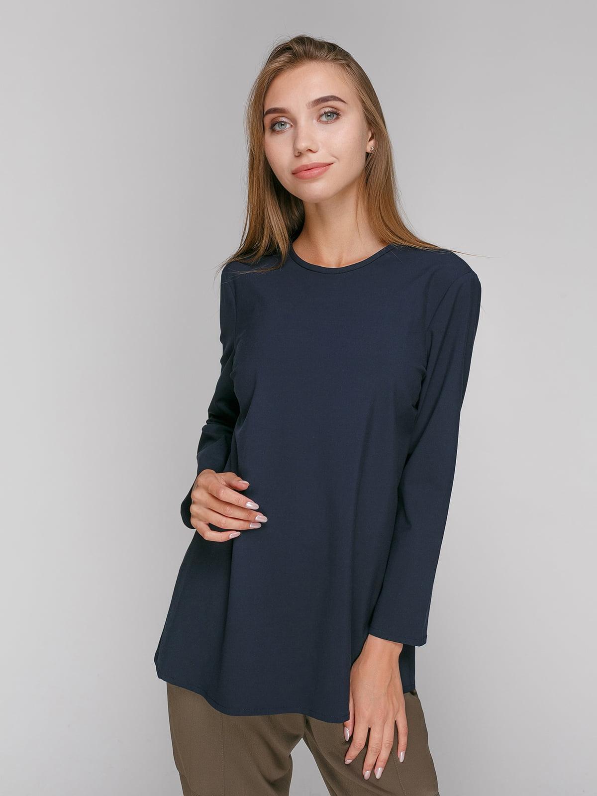Блуза синяя | 2753126