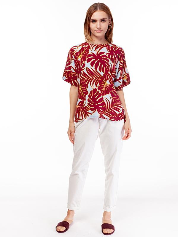 Блуза принтованная | 5104568