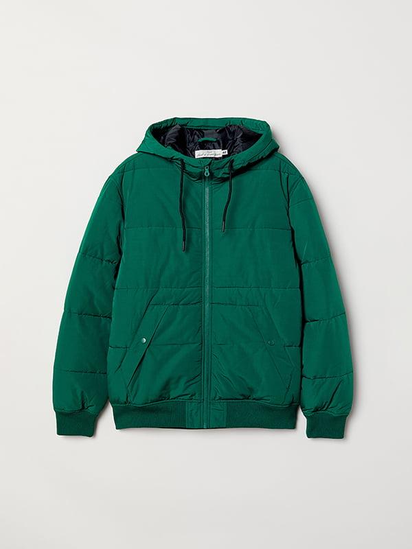 Куртка изумрудного цвета | 5104608