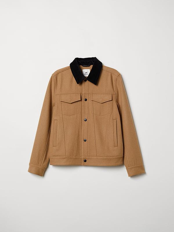 Куртка коричневая   5104614