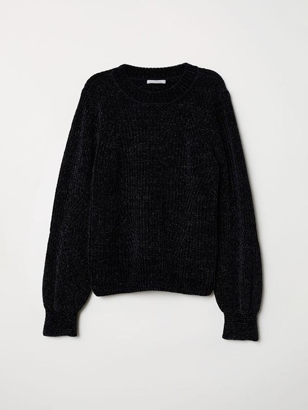 Джемпер черный | 5112841