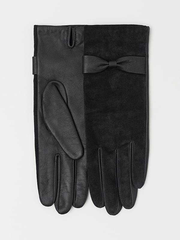 Перчатки черные   5113140