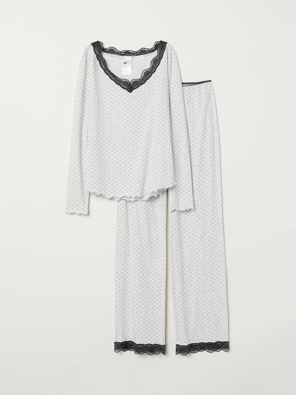 Пижама: лонгслив и брюки | 5113146