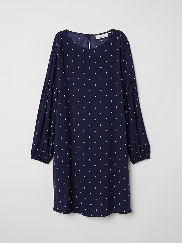 Платье синее | 5113194