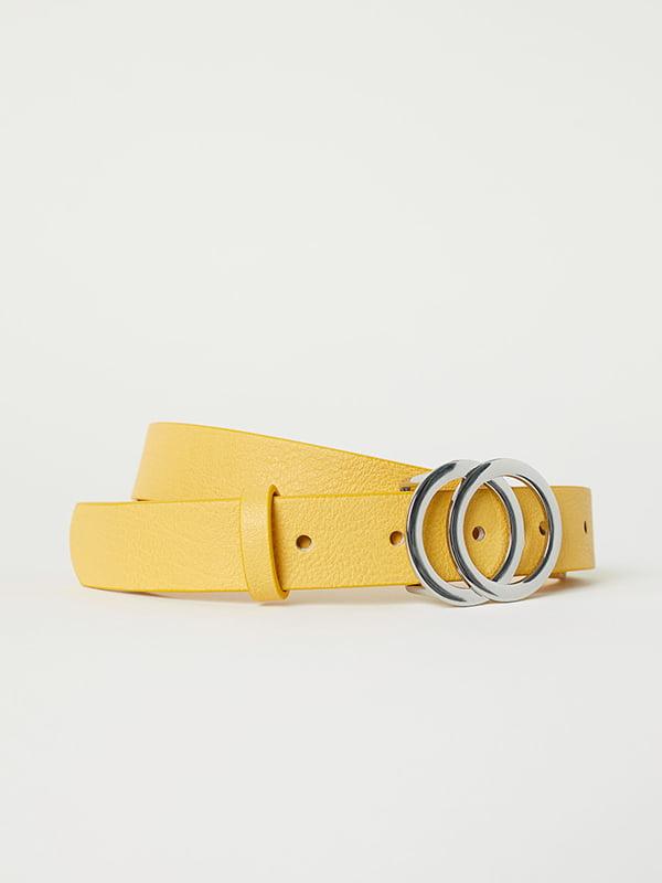 Ремень желтый   5113247