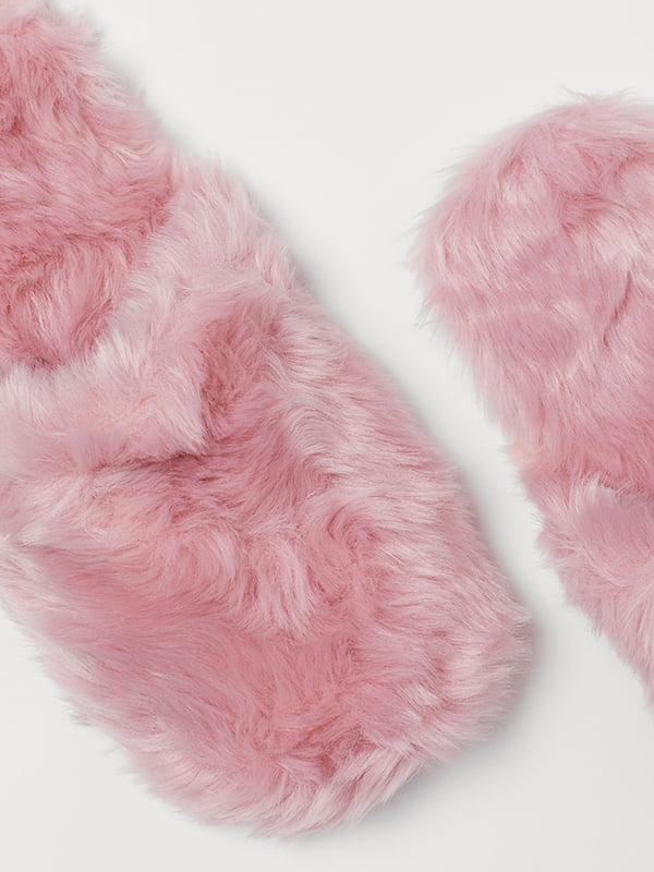 Тапочки розовые | 5113321 | фото 2
