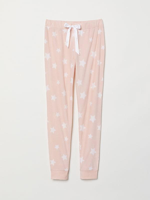 Брюки пижамные розовые | 5113463