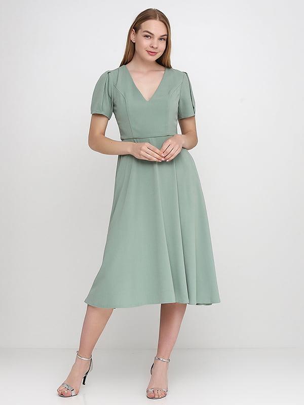 Платье цвета мяты | 5140675