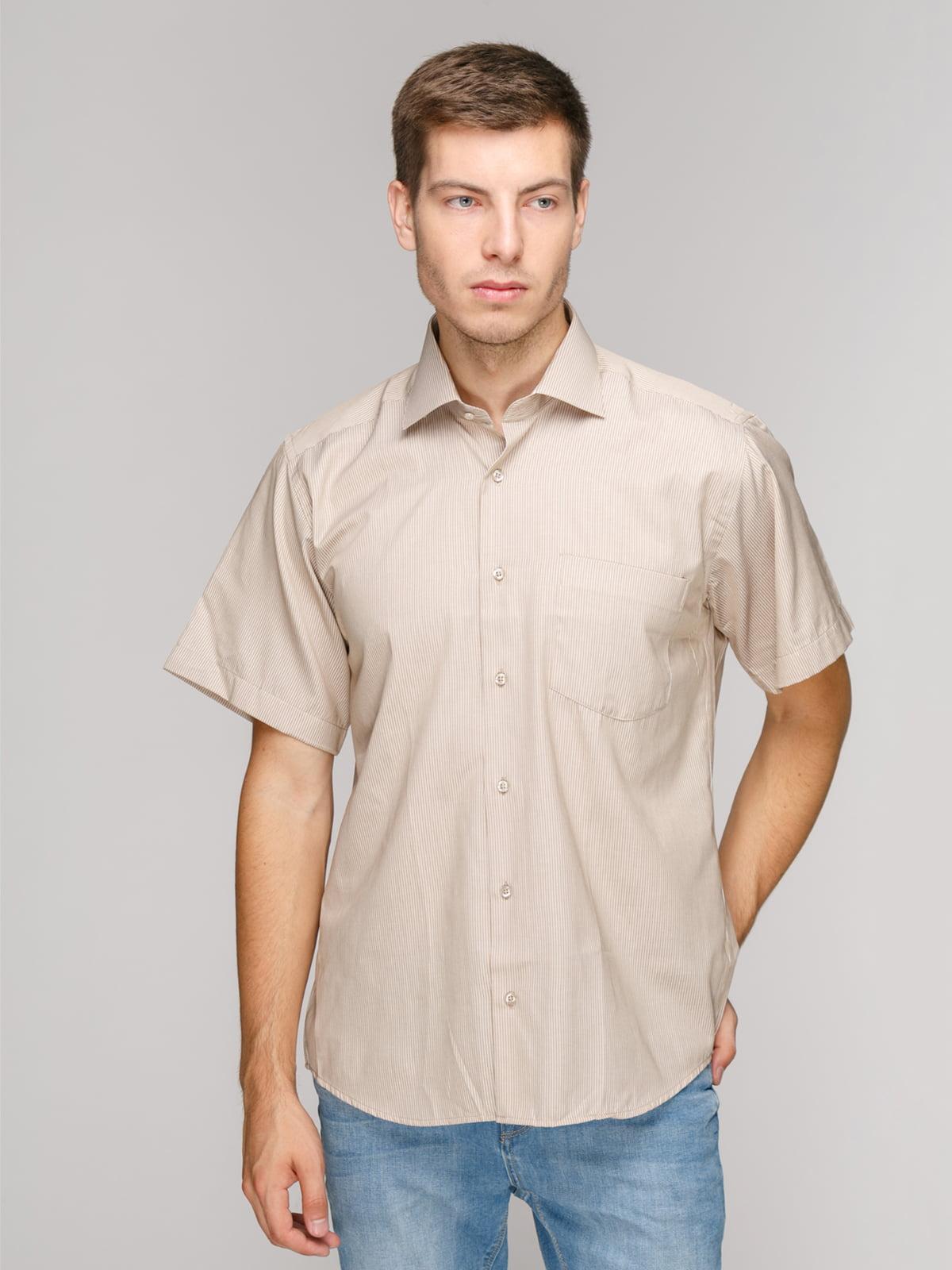 Рубашка бежевая | 5114401