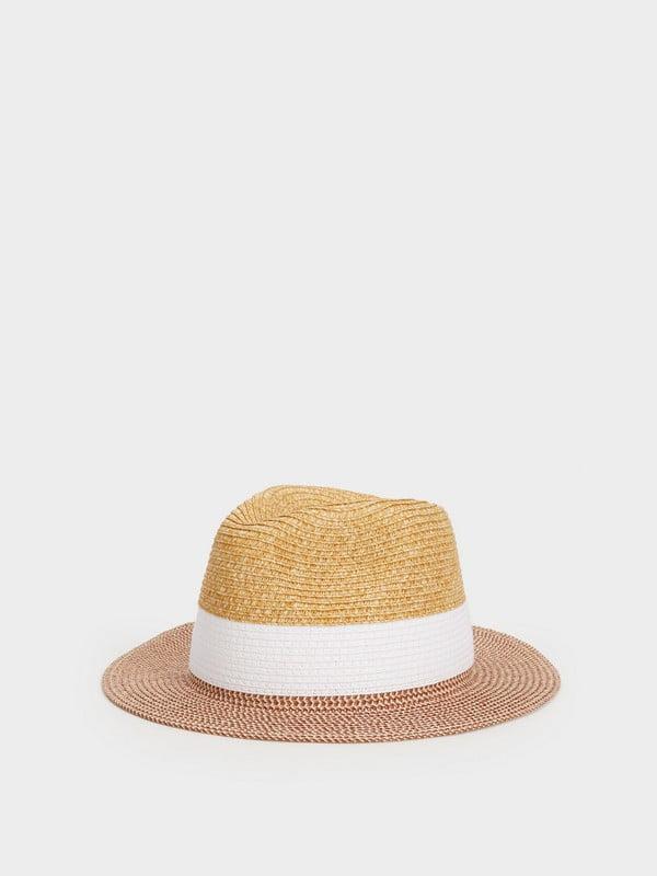 Шляпа бежевая | 5137439