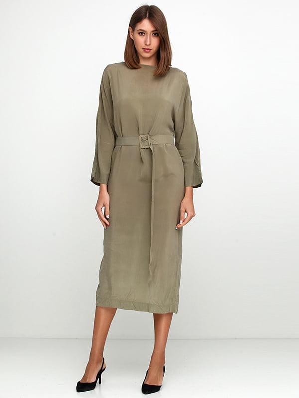 Платье цвета хаки | 5140676