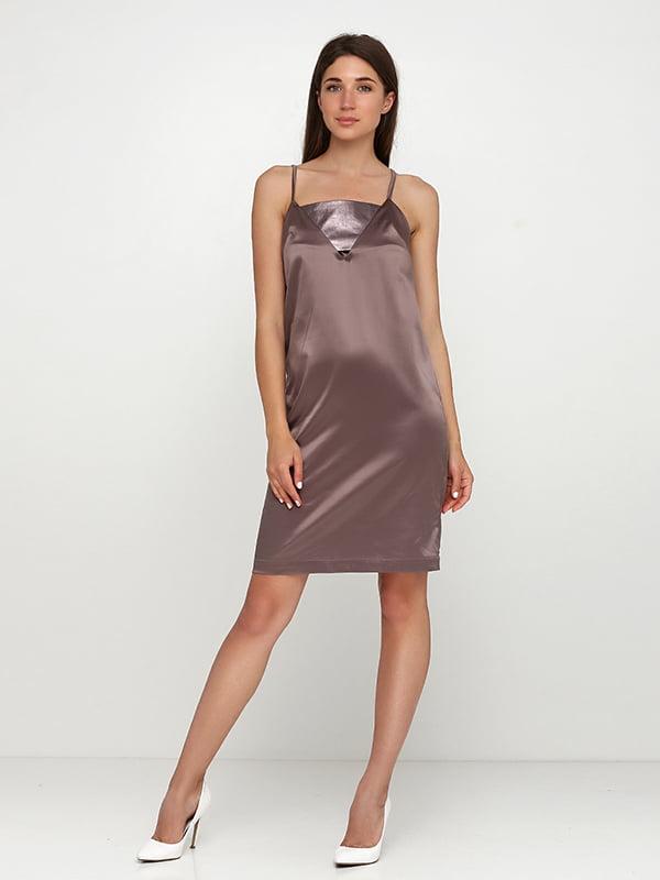 Сукня коричнева | 5140757