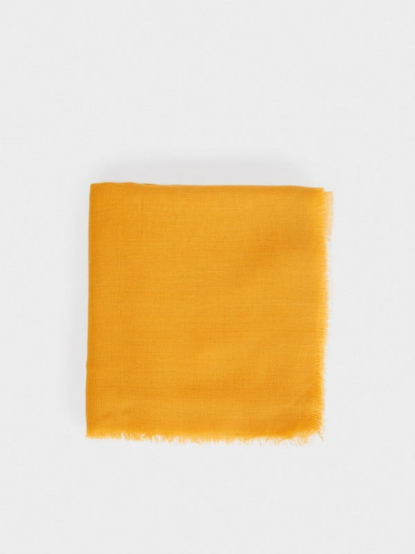 Шарф желтый | 4862906