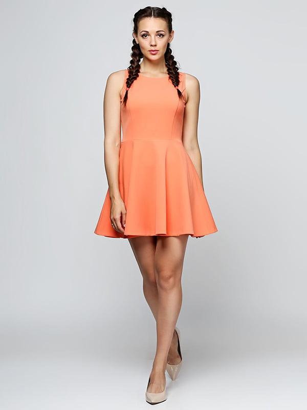 Платье персикового цвета | 5140663
