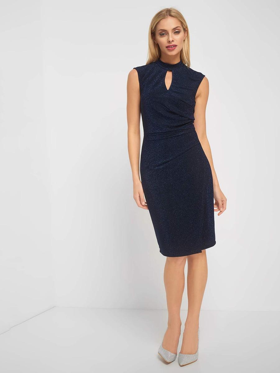 Платье синее | 5142694