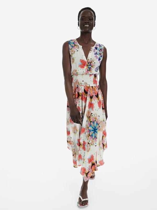 Сукня в квітковий принт | 5143195