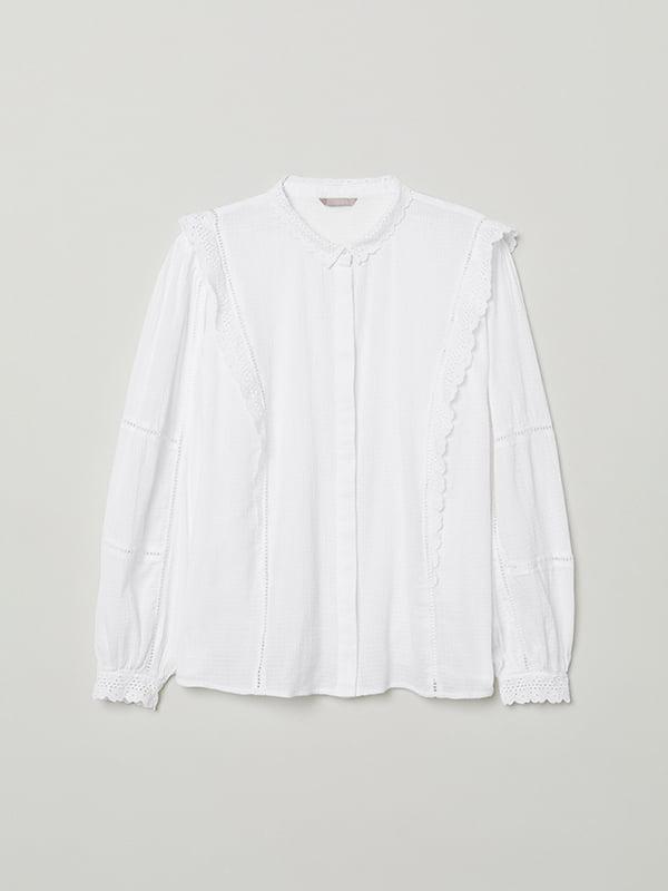 Блуза белая   5133616